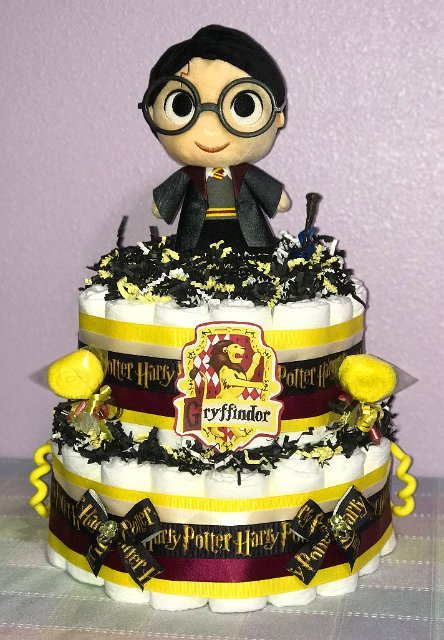 Harry Potter Diaper Cake