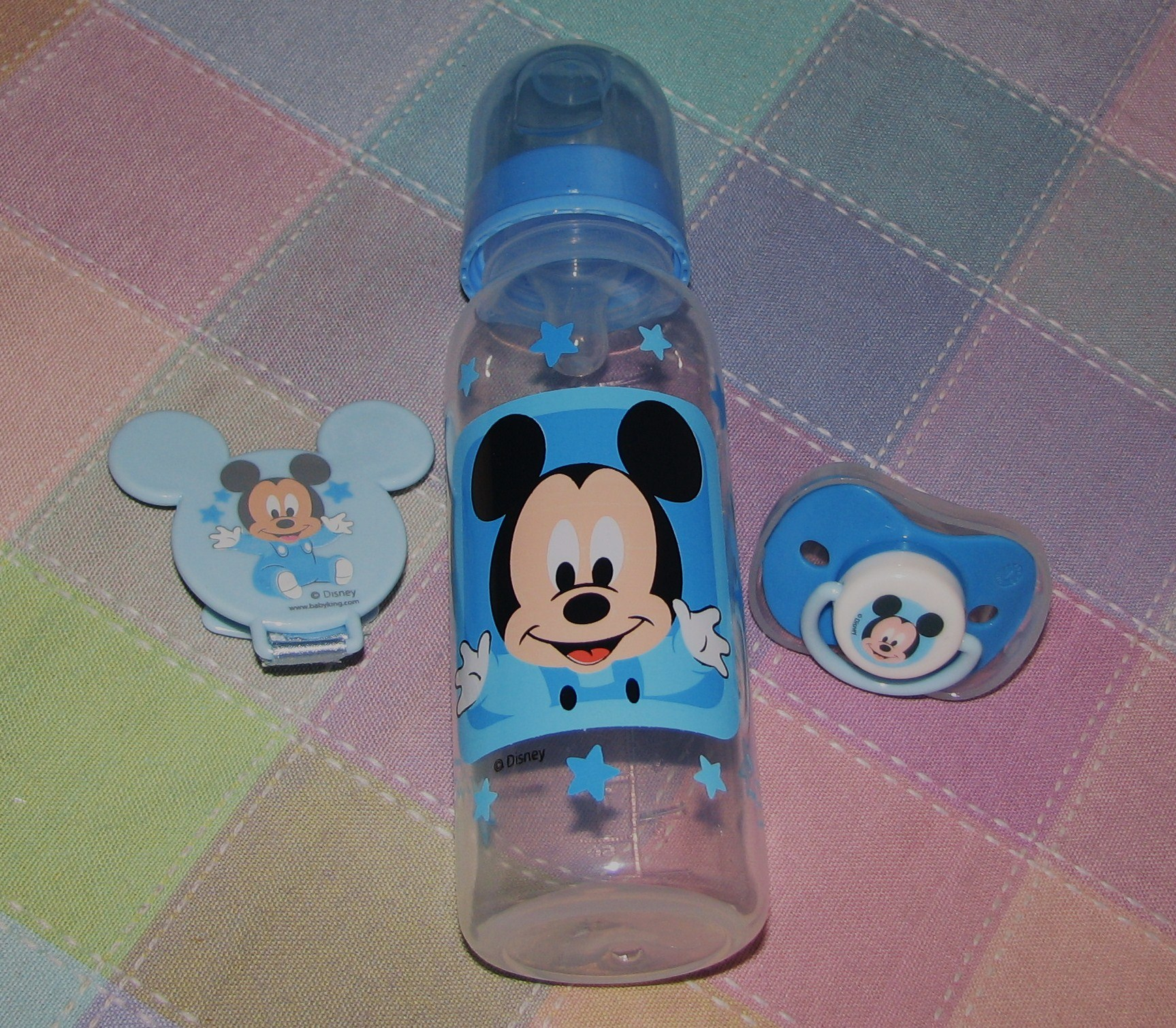 Mickey Mouse Baby Bottle & Pacifier