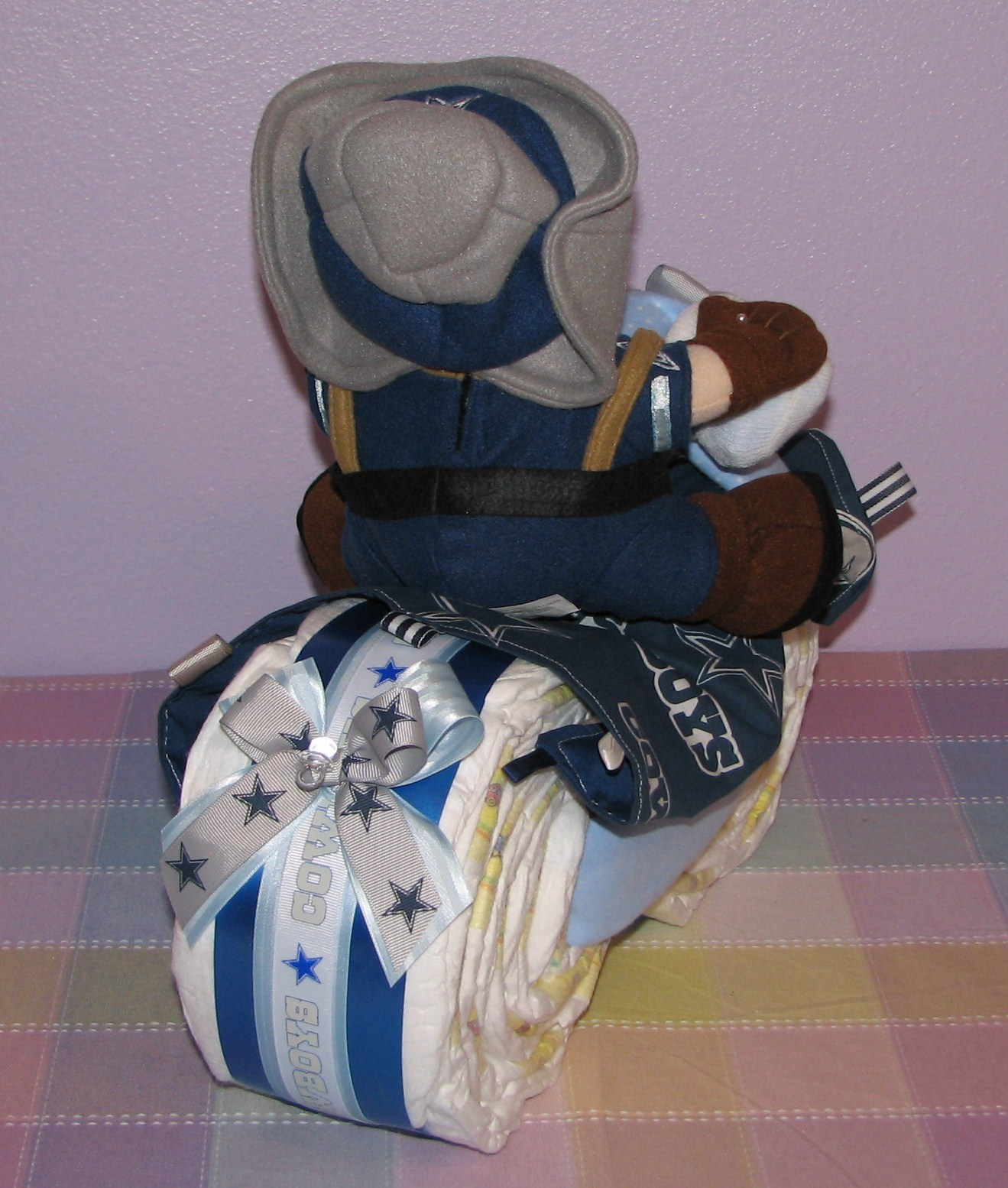Cowboys-Diaper-Motorcycle1.JPG - Dallas Cowboys Diaper Motorcycles