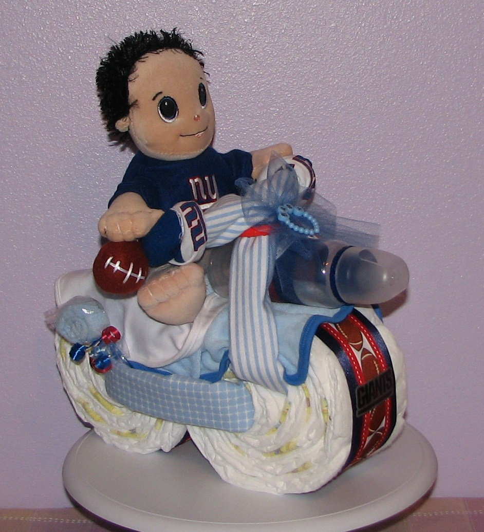 NY-Giants-Diaper-Motorcycle.JPG - New York Giants Diaper Motorcycle