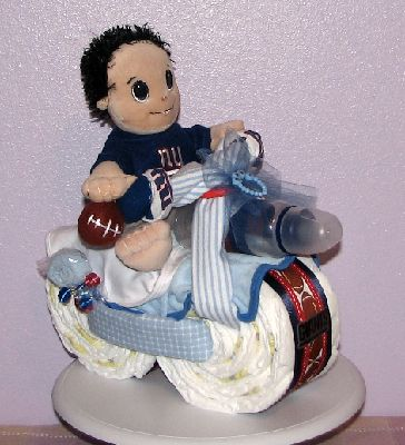 Boys Motorcycle Diaper Cake Ideas And Designs