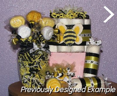 JPG   Bumble Bee Baby Shower Table Centerpieces