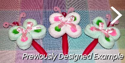 Pin Baby Washcloth Roses With Leaves Instructional Video