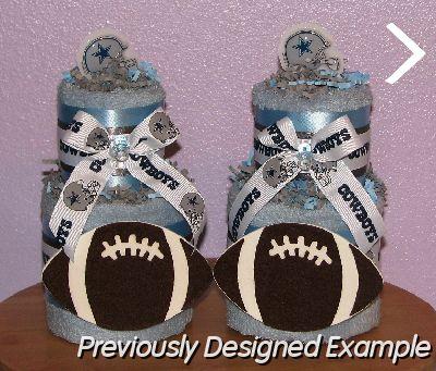 cowboys towel cake centerpiecesjpg dallas cakes