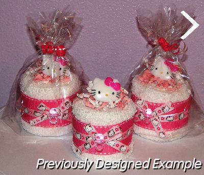 Table Centerpieces Shower Favorshello Kitty Baby Shower Favors