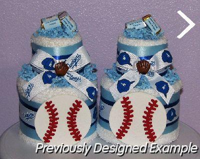 Table Centerpieces Shower Favorsla Dodgers Baby Shower Centerpieces
