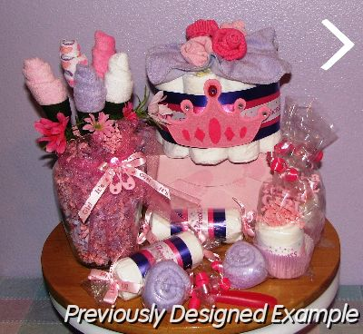Table Centerpieces - Baby Shower Favors/Princess Baby Shower