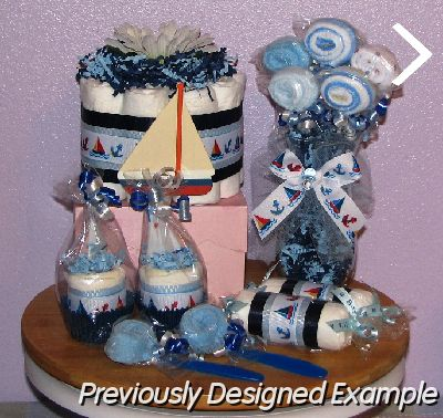 Table Centerpieces - Baby Shower Favors/Nautical Baby Shower