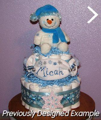 Winter-Diaper-Cake.JPG - Winterland Diaper Cake