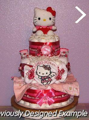 Hello kitty diaper cake 2 jpg hello kitty diaper cake