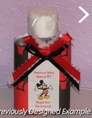 Custom Candy Bar Wrappersmickey Mouse Baby Shower Favors