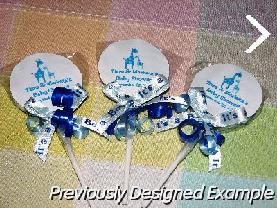 personalized lollipop shower favors jpg baby shower lollipop favor