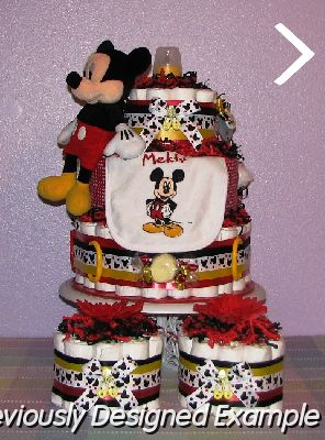Disney Themed Baby Shower Gifts/Mickey mouse baby shower table