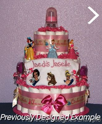 winnie the pooh other disney disney princess diaper cakes