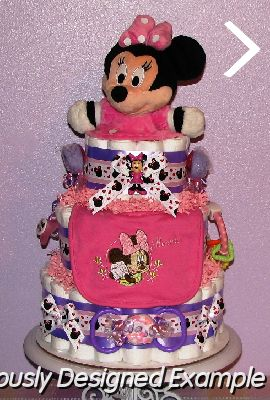 Disney Themed Baby Shower Gifts/Minnie mouse shower decorations
