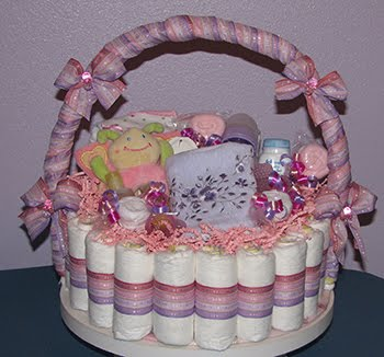 Diaper Basket Gift