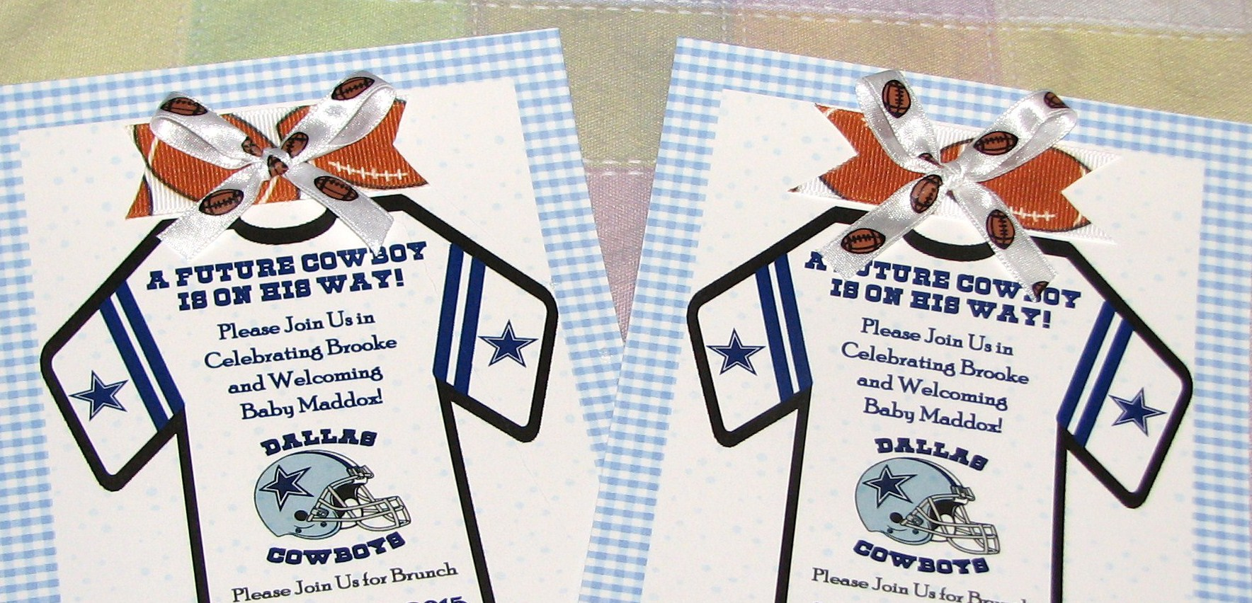 Dallas Cowboys Baby Shower Invitations is one of our best ideas you might choose for invitation design