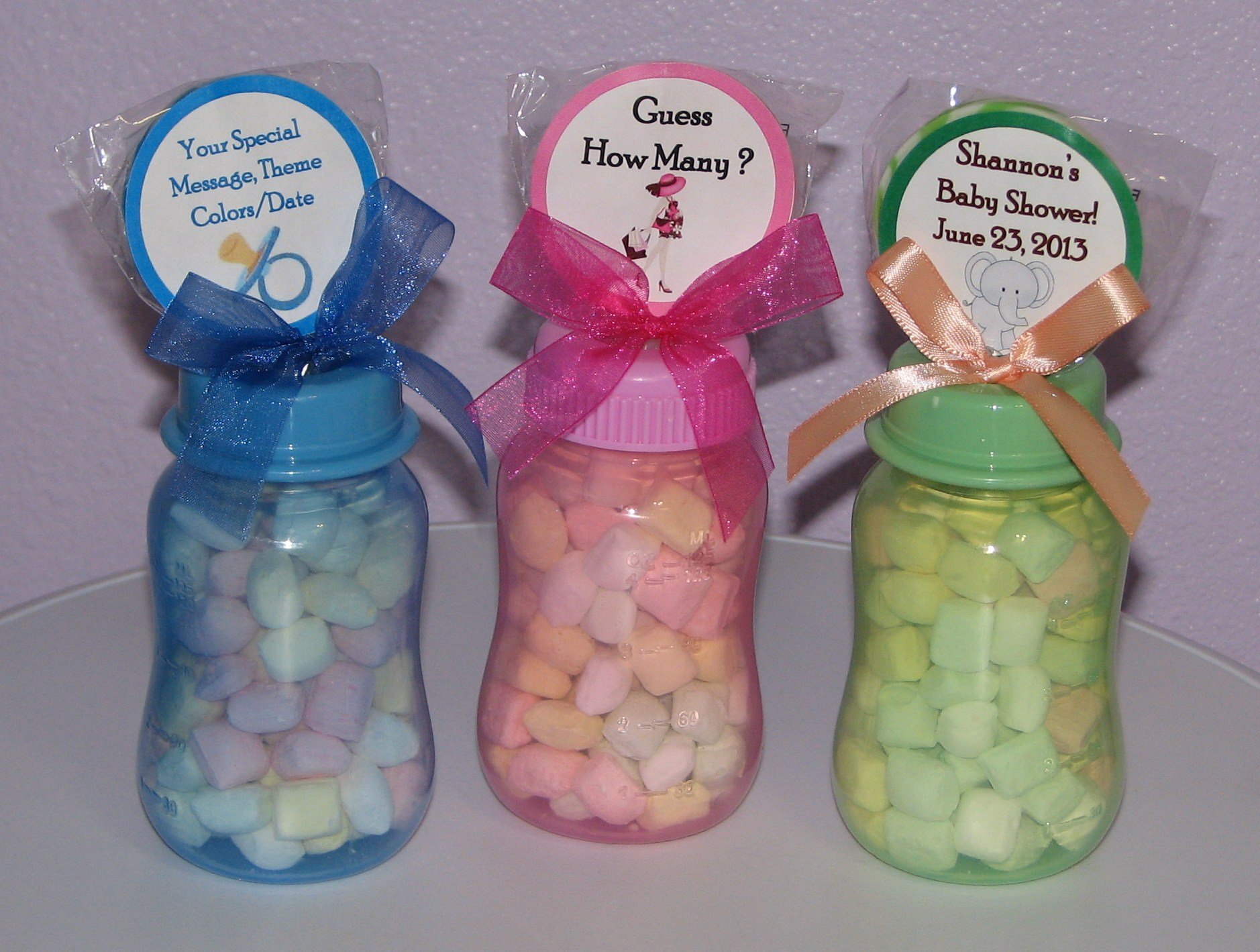 Baby Washcloth Lollipops ♥ Washcloth Candy & Favors ♥