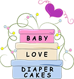 Diaper Cake for Your Custom Baby Shower Party