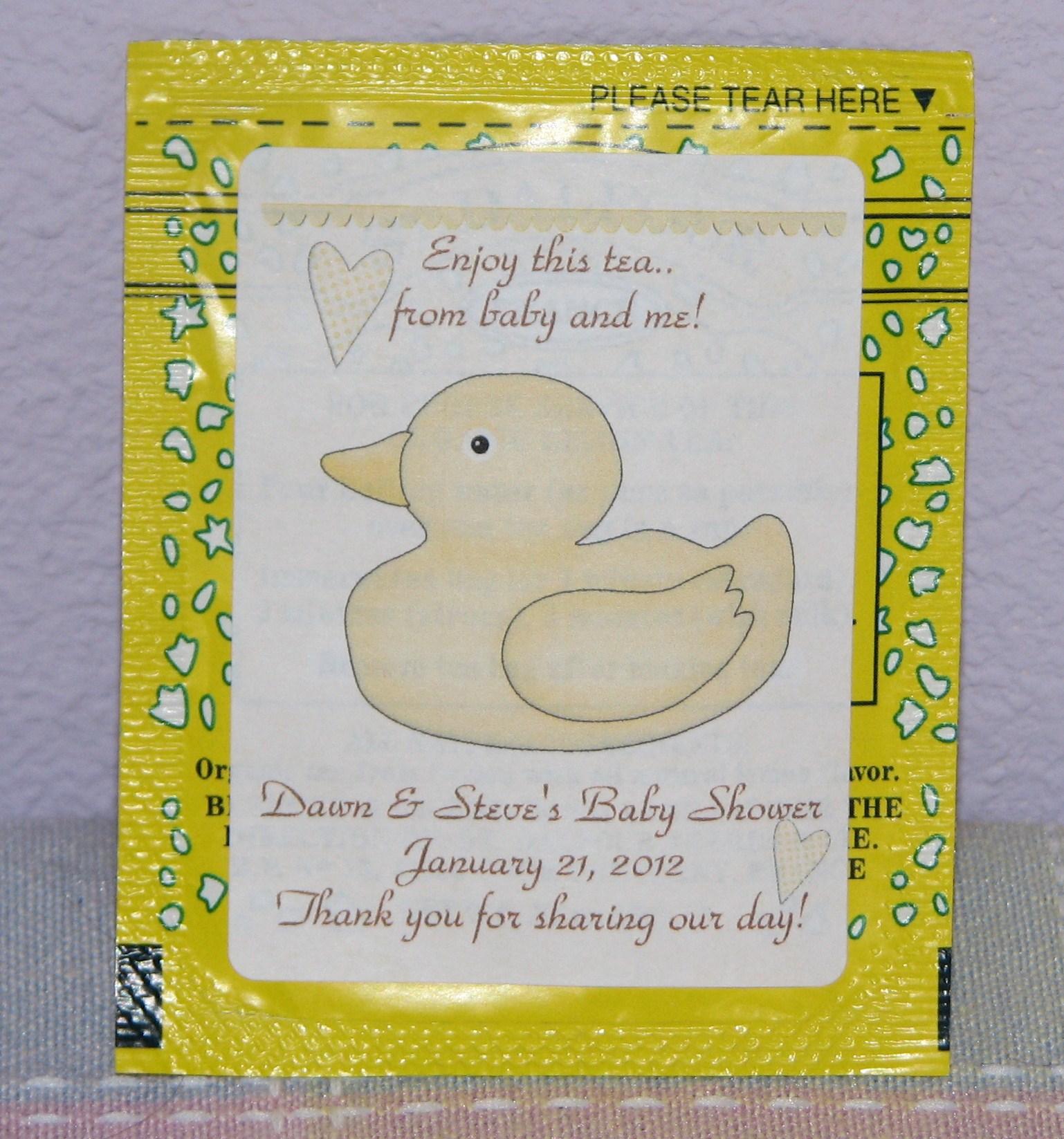 Tea Bags Favors Tea Bag Favors Shabby Chic Tea