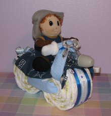 Sport Diaper Motorcycle