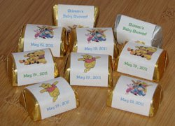 Winnie the Pooh Candy Bar Wrappers